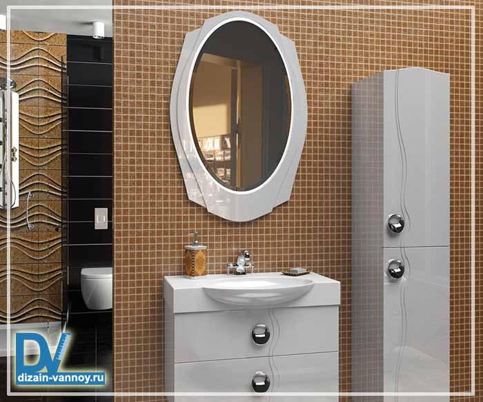 зеркало круглое для ванной