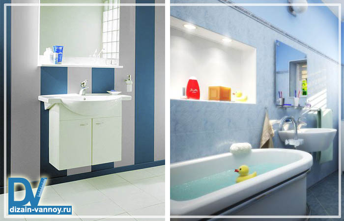ванная отделанная пластиковыми панелями фото