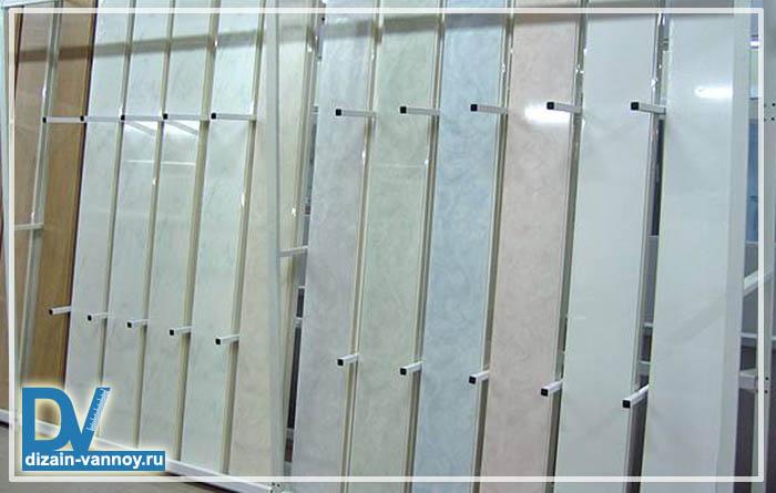 панели пвх в ванной фото