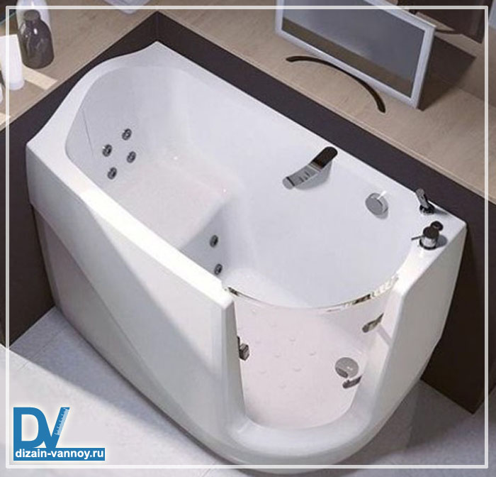ванна сидячая чугунная