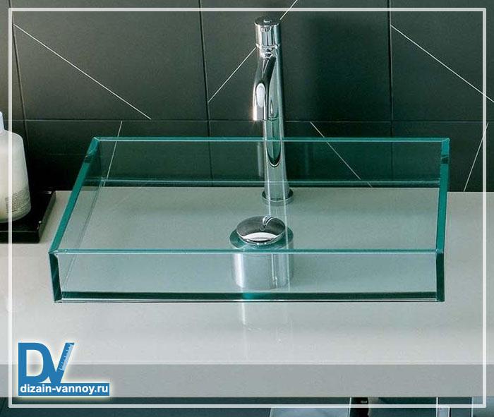 раковина для ванной стеклянная