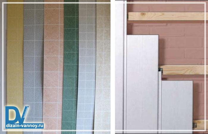 стеновые панели для ванной комнаты