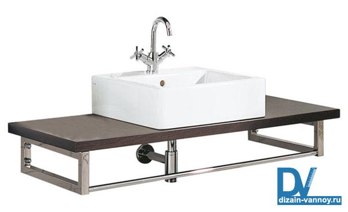 высота столешницы в ванной
