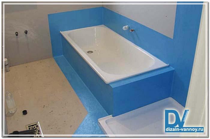обмазочная гидроизоляция для ванной комнаты