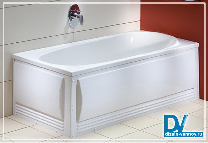 фронтальная панель для ванны