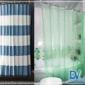 шторка для ванной тканевая