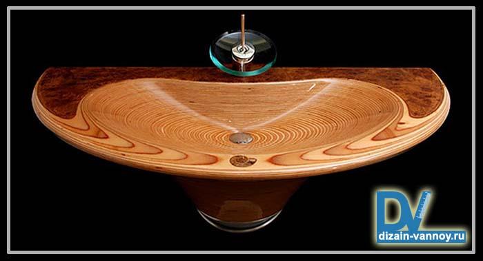 дизайн раковины в ванной фото