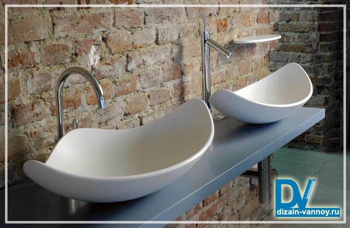 литые раковины для ванной