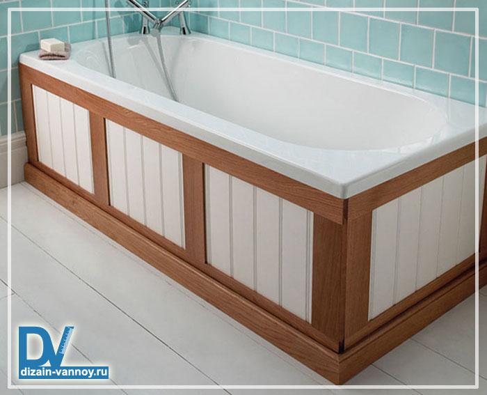 экран для стальной ванны