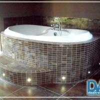 Как сделать подиум для ванны