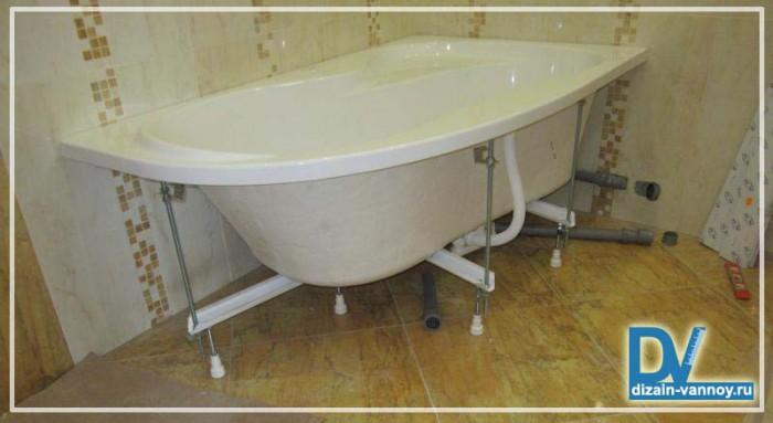 ванная установка акриловая
