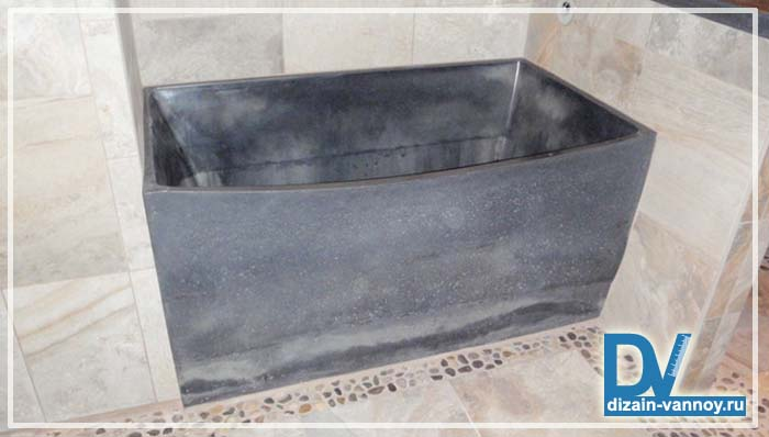 Ванна из бетона своими
