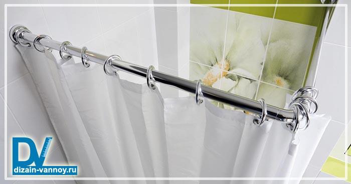 угловая шторка для ванной