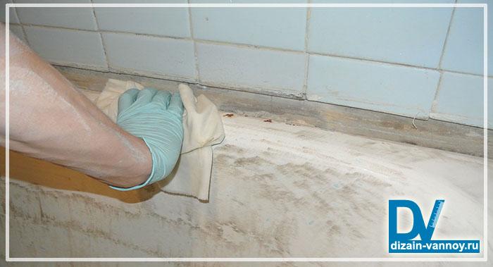 обновить ванну акрилом