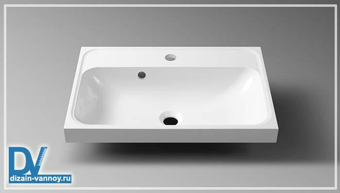металлическая раковина для ванной