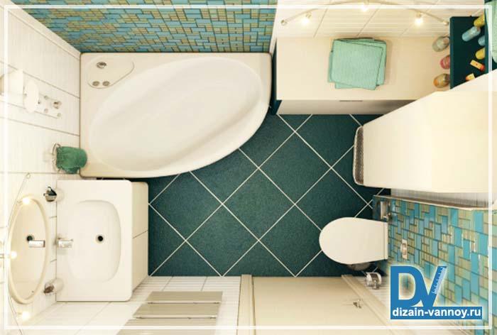 стандартные ванные комнаты дизайн фото
