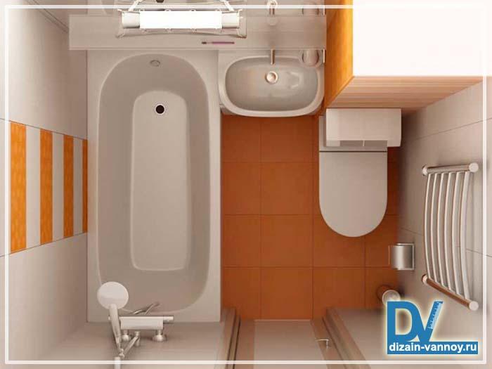 проекты ванной комнаты маленького размера