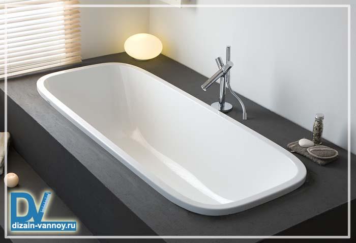 ванная прямоугольная