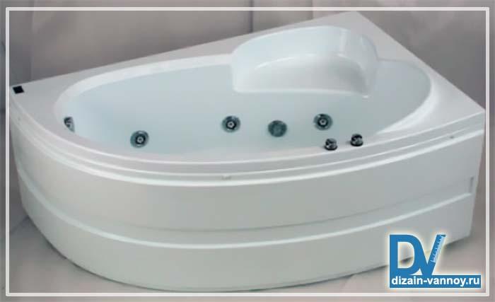 сидячие ванны размеры