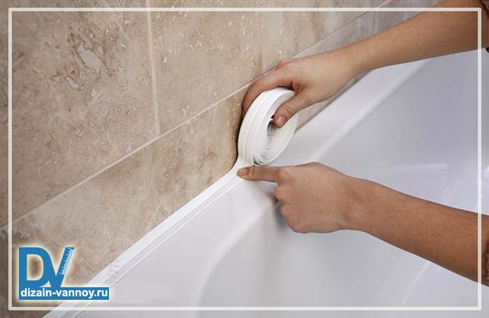 герметизация ванны по периметру