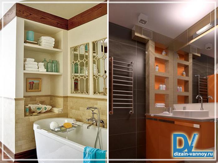 отделка небольшой ванной комнаты фото