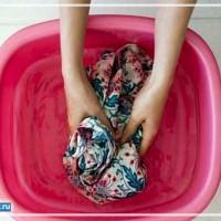 как постирать шторку для ванной