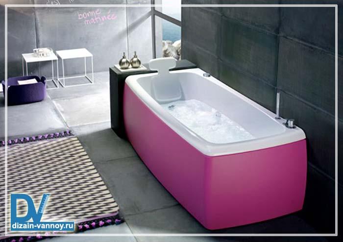 ванна встраиваемая прямоугольная