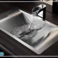 раковина из нержавейки для ванной