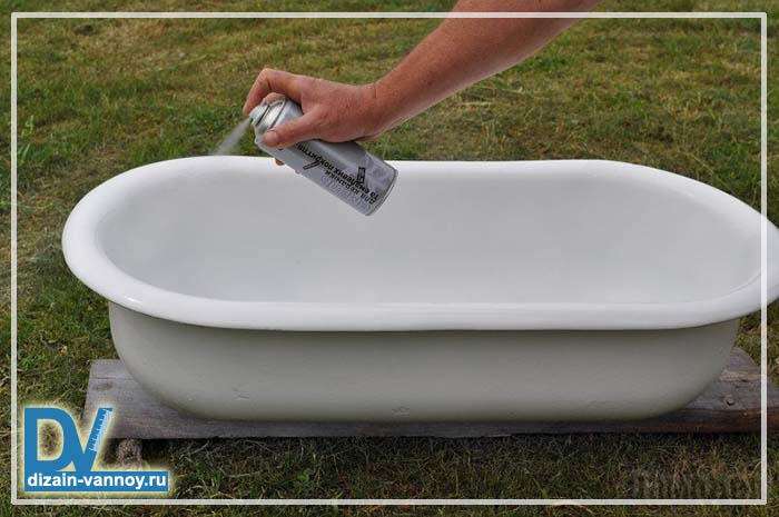 как сделать старую ванну новой