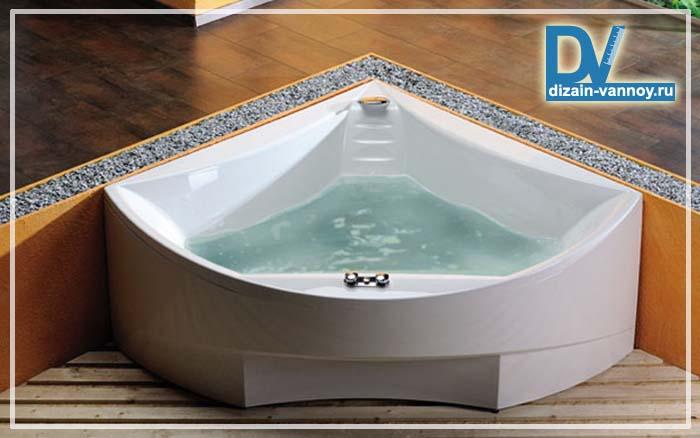 сколько литров в стандартной ванной