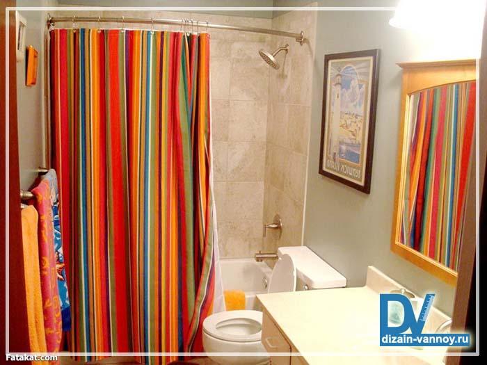 штора для ванной угловая