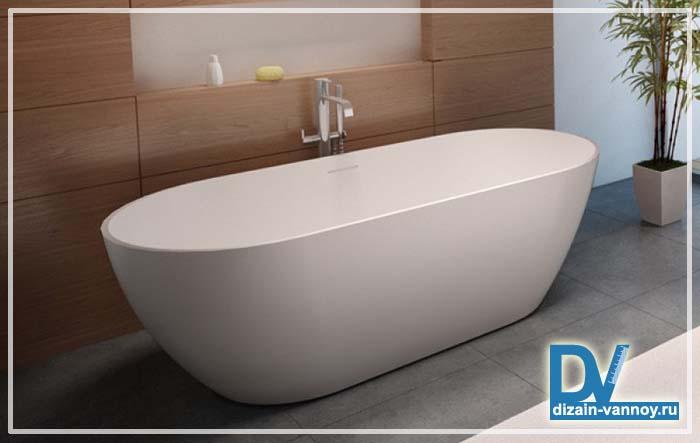 ванная прямоугольная размеры