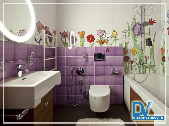 дизайн ванная комната маленькая фото