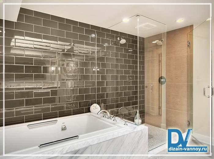оформление маленькой ванной комнаты фото
