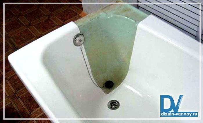 как восстановить старую ванну
