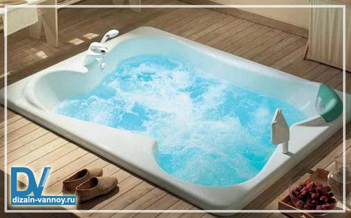 посоветуйте гидромассажную ванну