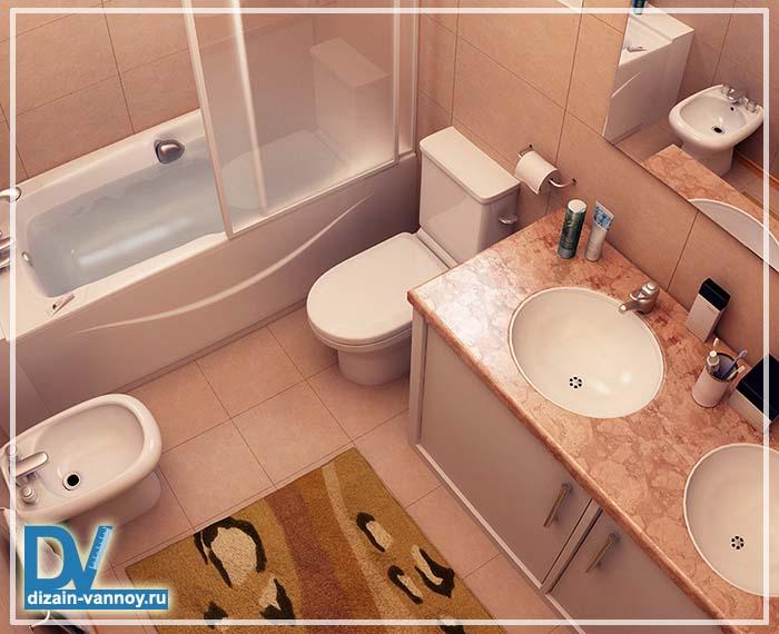 ванна дизайн маленькая фото