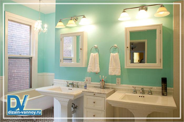 водостойкие краски для ванной