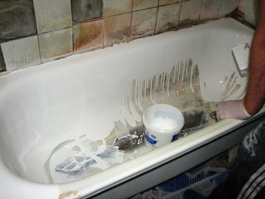 Восстановление ванны акрилом своими руками