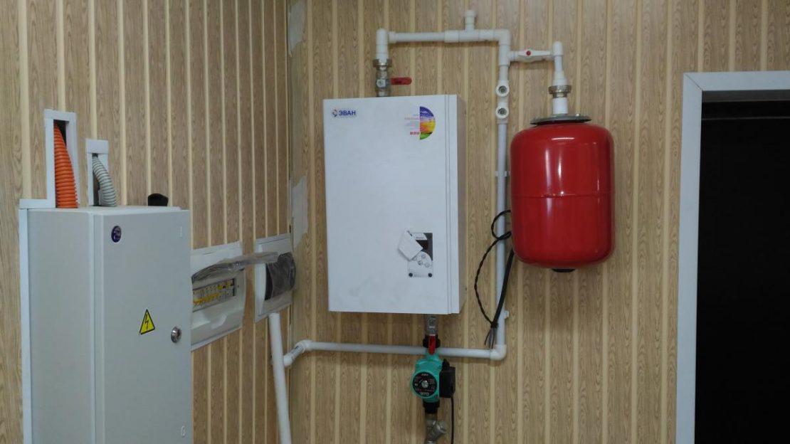 электрическое водяное отопление