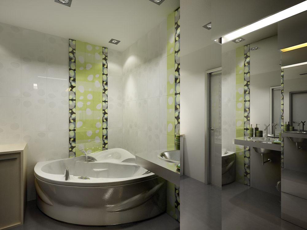 сколько стоит отделка ванной плиткой