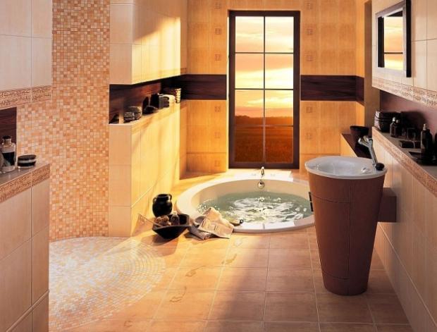 плитка для ванной комнаты классика