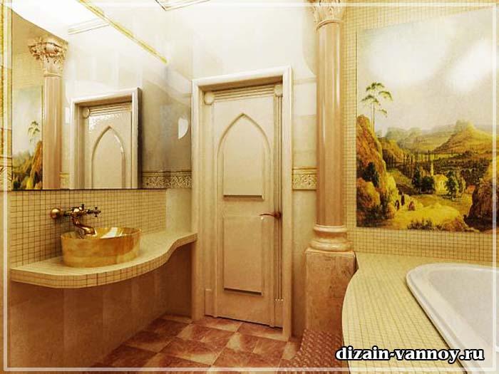 ванна в восточном стиле