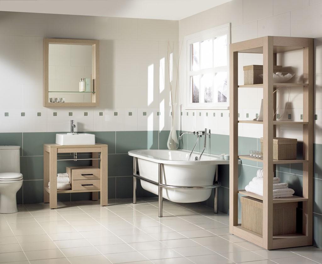 ванна в стиле кантри фото