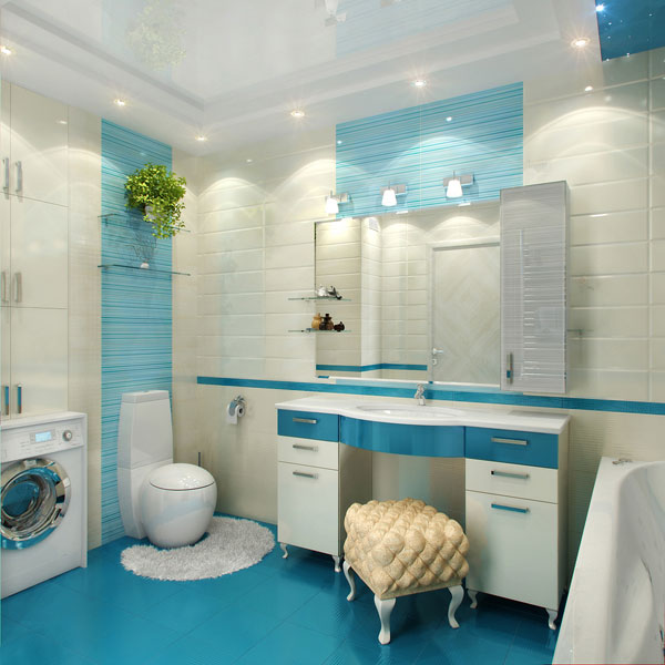 ремонт кафельной плитки в ванной