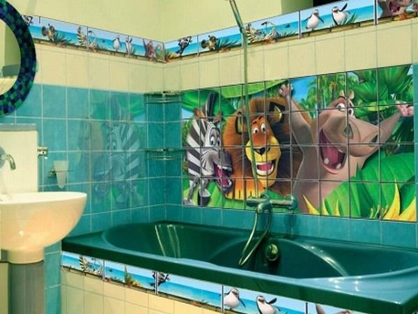 плитка для детской ванной