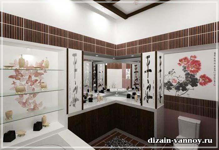 ванна в китайском стиле