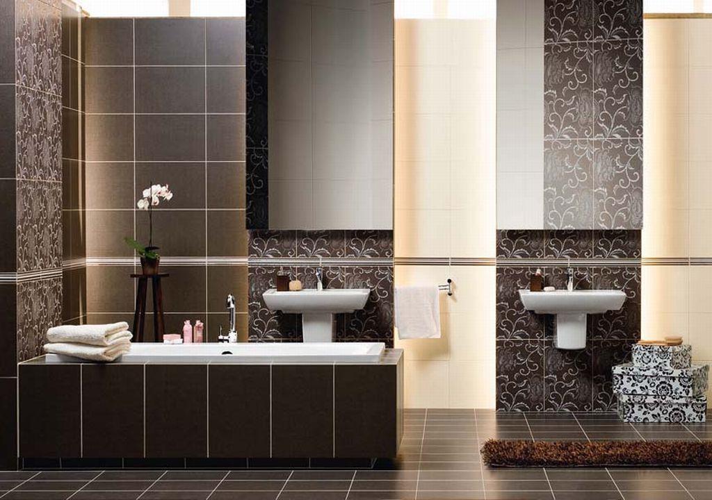 классическая плитка для ванной