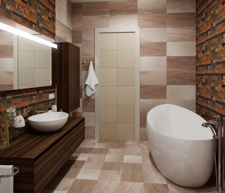 современная ванная комната дизайн фото