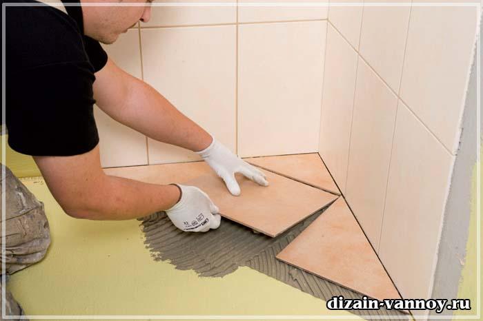 очередность ремонта в ванной комнате